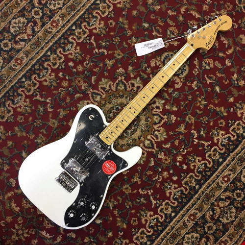 Squier Vintage Modified Telecaster Deluxe, Vintage White